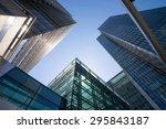 office building in london ... | Shutterstock . vector #295843187