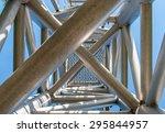 complex ladder. urban geometry  ... | Shutterstock . vector #295844957