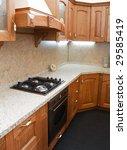 interior of modern kitchen | Shutterstock . vector #29585419