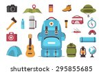 tourism icons | Shutterstock .eps vector #295855685