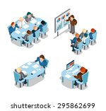 business negotiations and... | Shutterstock . vector #295862699