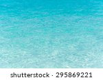 blue ripple water wave in sea... | Shutterstock . vector #295869221
