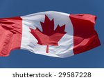 The Canadian Flag Flying...