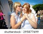 rome  italy   june 11 2011.... | Shutterstock . vector #295877699