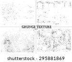 grunge textures.distress... | Shutterstock .eps vector #295881869