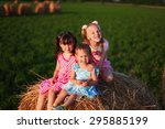 child. | Shutterstock . vector #295885199