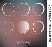control panel   regulators ... | Shutterstock .eps vector #295888007