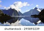 milford sound in new zealand | Shutterstock . vector #295893239