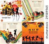 music backgrounds | Shutterstock .eps vector #29589565
