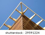 Structure Of A Wooden House...