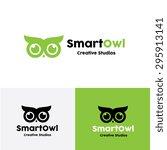 owl vector logo template | Shutterstock .eps vector #295913141