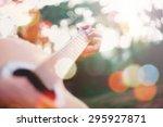 Men Playing Electric Guitar...