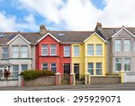 Colorful English Terraced Houses