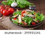 Salad Of Chicken Breast With...