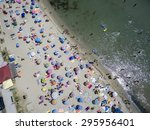 katerini  greece  july 5 2015 ... | Shutterstock . vector #295956401