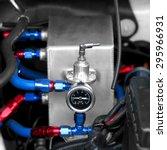 mechanical vehicle compressor... | Shutterstock . vector #295966931