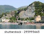 monterosso  italy   7 july 2015 ... | Shutterstock . vector #295995665