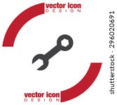 wrench vector icon | Shutterstock .eps vector #296020691