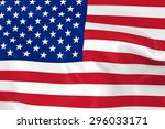 flag of the united states of... | Shutterstock . vector #296033171
