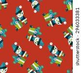 christmas elf flat icon  eps10...   Shutterstock .eps vector #296033381