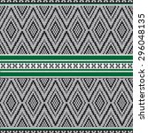 green and gray ethnic...