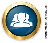 blog button   Shutterstock .eps vector #296082881