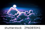 awesome clouds | Shutterstock . vector #296085041