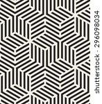 vector seamless pattern. modern ... | Shutterstock .eps vector #296098034