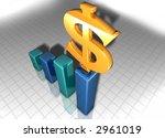3d graph | Shutterstock . vector #2961019