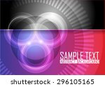color abstract background | Shutterstock .eps vector #296105165