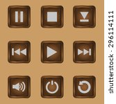media player buttons collection ...