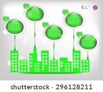 modern  abstract  business... | Shutterstock .eps vector #296128211