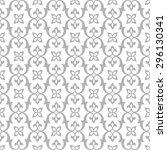 vintage seamless pattern. ... | Shutterstock .eps vector #296130341