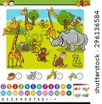 cartoon vector illustration of...   Shutterstock .eps vector #296136584