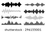music  sound waves set. musical ...