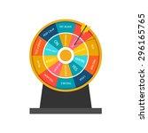 business decision maker...   Shutterstock .eps vector #296165765