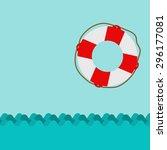 ring life | Shutterstock .eps vector #296177081