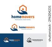 house  building  real estate... | Shutterstock .eps vector #296204231