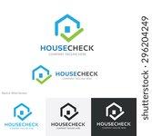 house  building  real estate...   Shutterstock .eps vector #296204249
