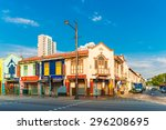 singapore   march 6   colonial... | Shutterstock . vector #296208695