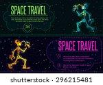 robots planet. this vector... | Shutterstock .eps vector #296215481