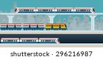 Sky Train  Subway  Illustratio...