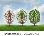 cure and recovery concept and... | Shutterstock . vector #296219711