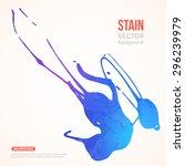 paint splash with grunge... | Shutterstock .eps vector #296239979