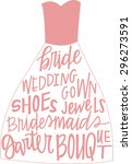 Wedding Dress With Hand...