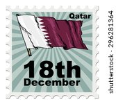 post stamp of national day of... | Shutterstock . vector #296281364