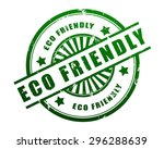eco friendly | Shutterstock . vector #296288639