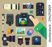 Photographer Set. Digital...