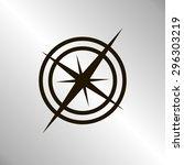 compass   Shutterstock .eps vector #296303219