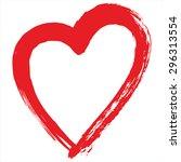 cupid's heart | Shutterstock .eps vector #296313554